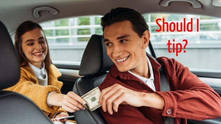 Tip Uber Driver