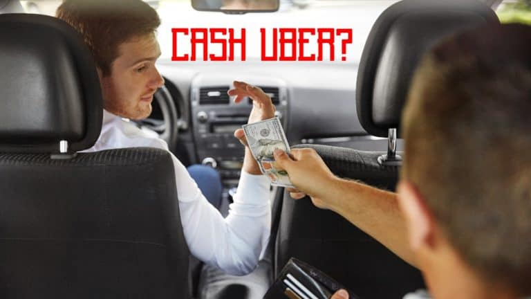 Can You Pay For An Uber In Cash?