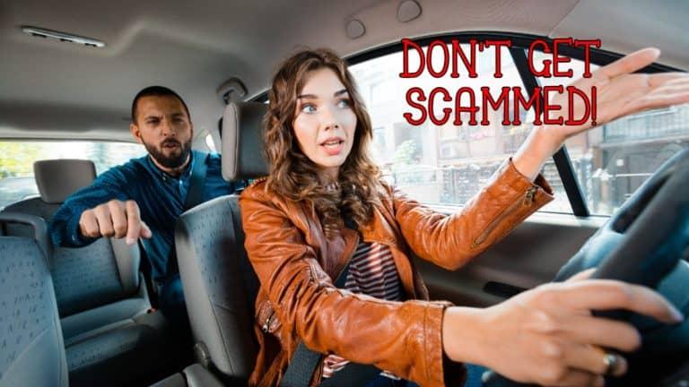 Passenger Scams