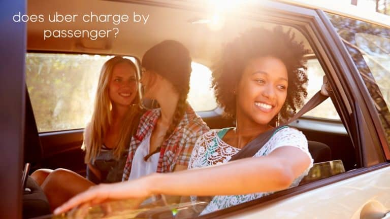 Does Uber Charge By Person?