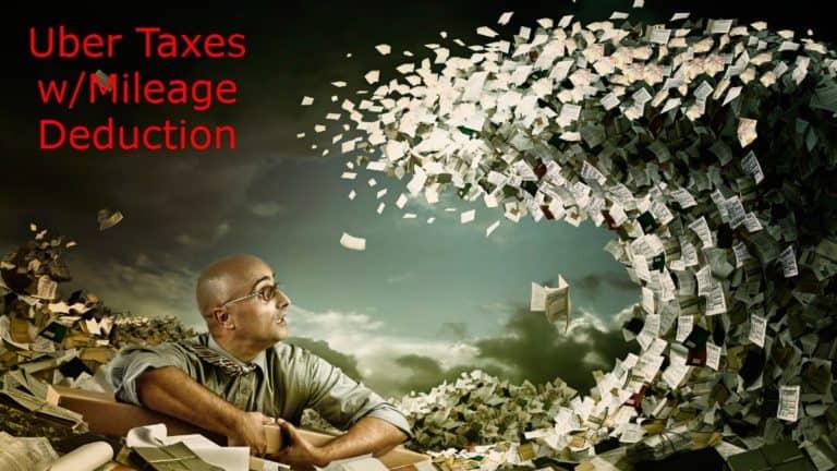 Uber Taxes Mileage Deduction
